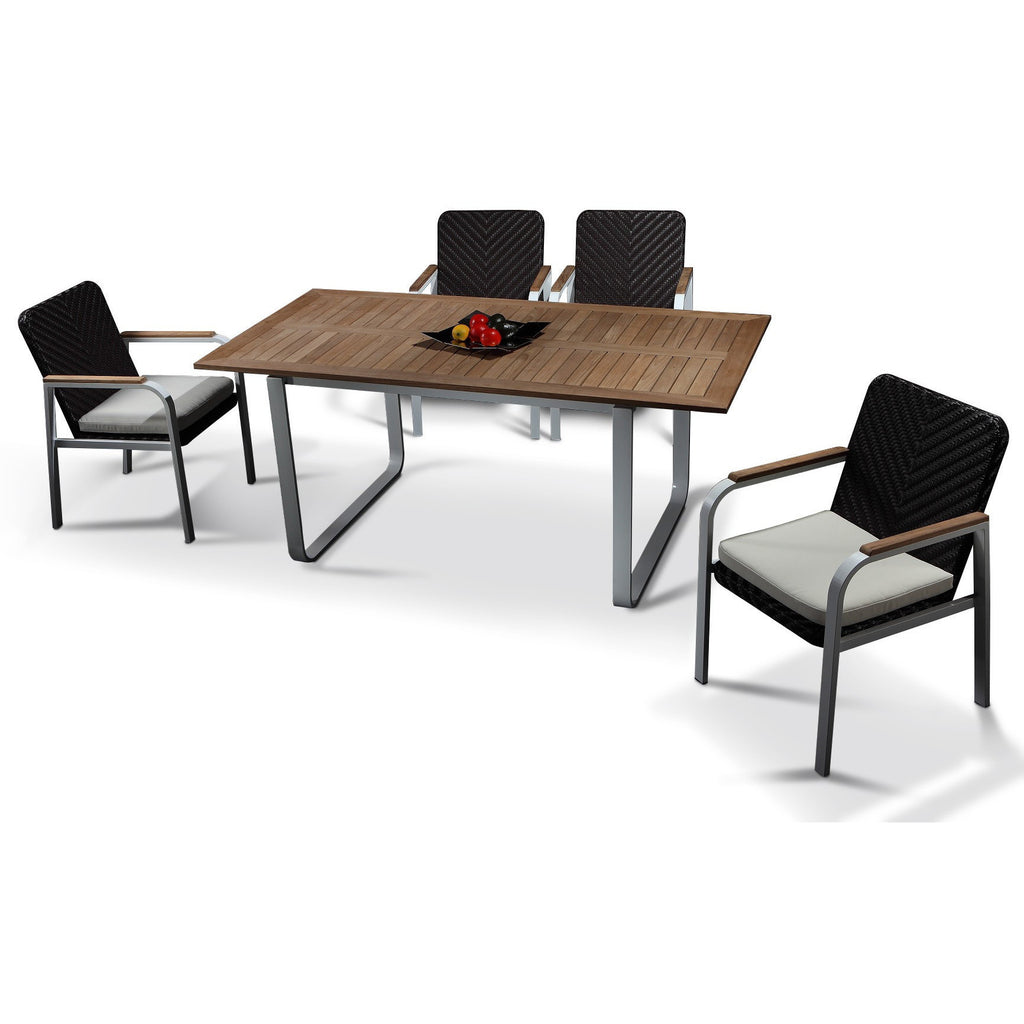 Rola Outdoor Dining Setting - Teak