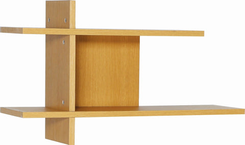 Fico Display Wall Shelf - Natural Oak
