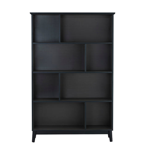 HOWELL High Bookcase - Gunmetal Grey