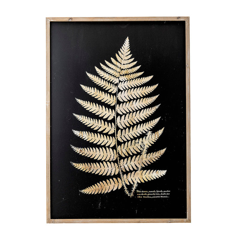 Fern Leaf in Nature Frame