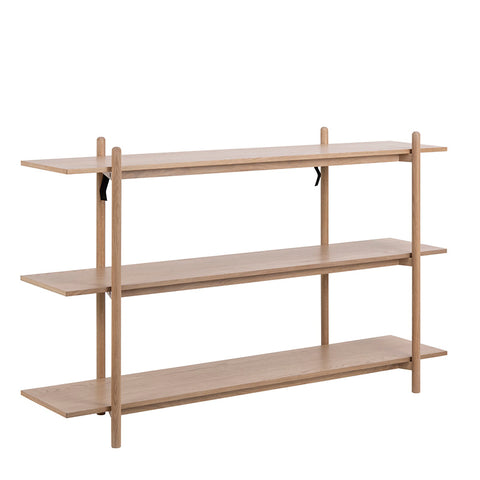 ASKAN Display Shelving Unit 90cm High - Natural