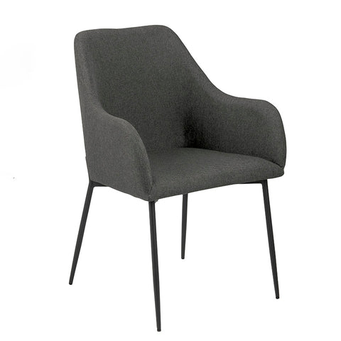 JUNE Dining Chair -  Grey