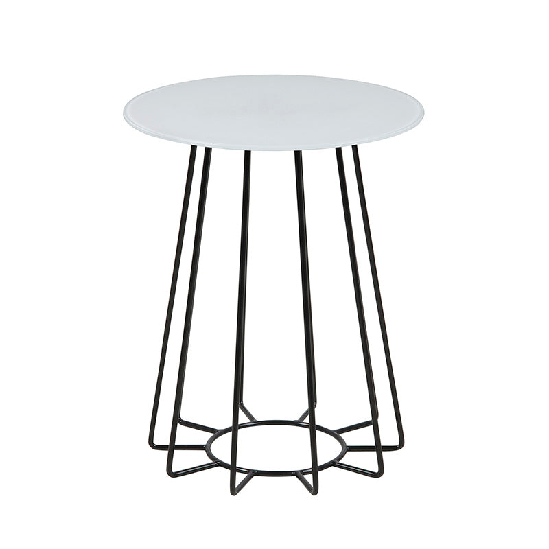 CASIA Side Table - 40cm - White