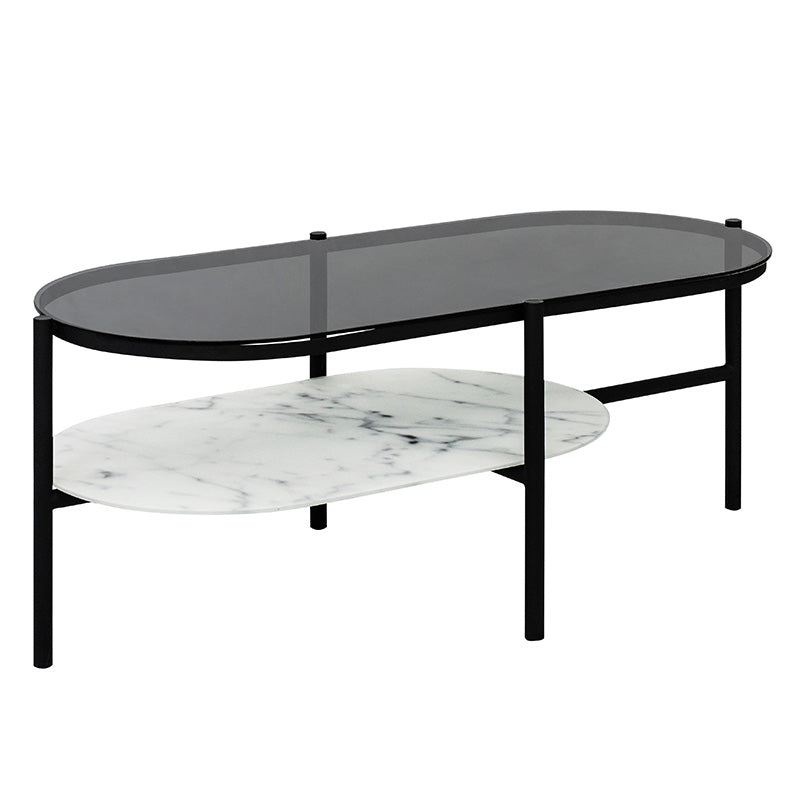 SHILDON Coffee Table 115cm - Smoke