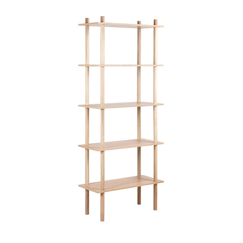 RUNA Display Shelving Unit 80cm - Natural