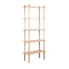 RATKI Display Shelving Unit 80cm - Natural