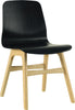 Alyssa Dining Chair - Oak & Black Open Pore