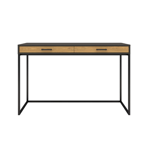 AMSTER Study Desk 120cm - Natural & Black