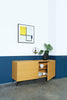 Akon Sideboard 1.54M Black and Oak