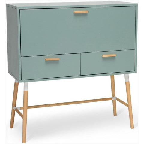 AROD Working Desk - 106cm - Sage Green