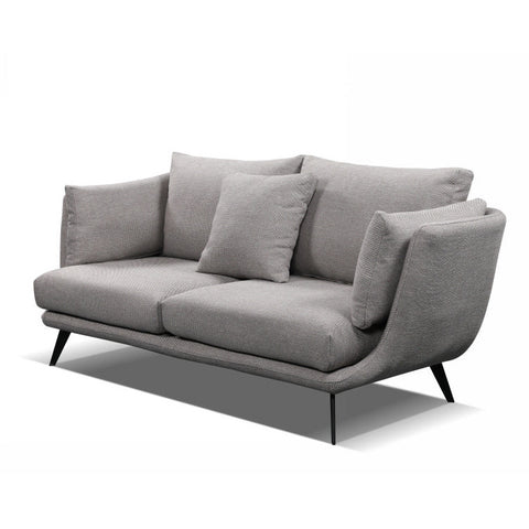 RANNI 3 Seater Sofa - Light Grey