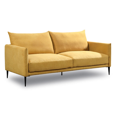 Madeira 3 Seater Sofa - Mustard Yellow