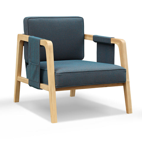 JONTY Lounge Chair - Jade Green