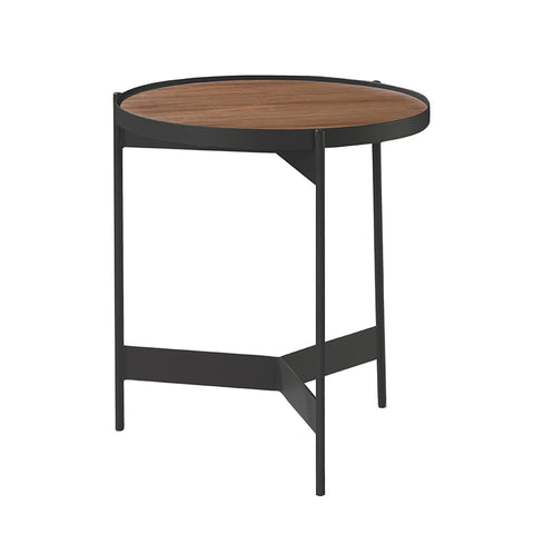 CHIARA Side Table - Rustic Brown