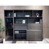 MATEES Display Unit 2.4M - Grey/Brown