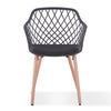 ATALIA Arm Chair - Black