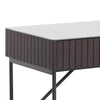 ELORA Study Desk 116cm Ceramic - Smoke Ash