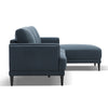 NETTA 3 Seater Sofa with Right Chair - Blue