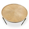 DELTA Round Coffee Table 65cm - Ash