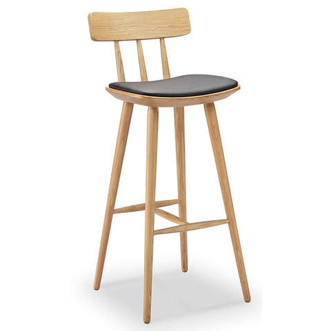 Reta Counter Stool - 66cm - Ash + Black