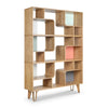 AZAMI Large Display Unit 120cm - Natural Ash