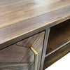 SIVAN Dresser 6 Drawers 155cm Acacia Solid Wood - Chocolate