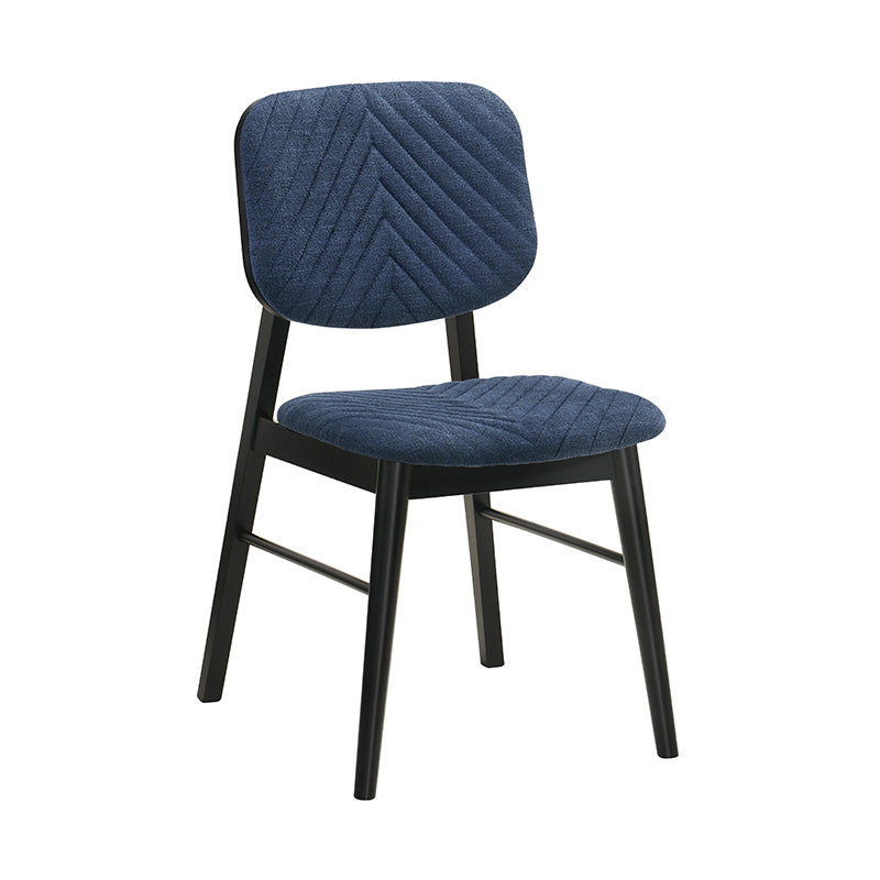 FLEX Dining Chair - Black & Blue