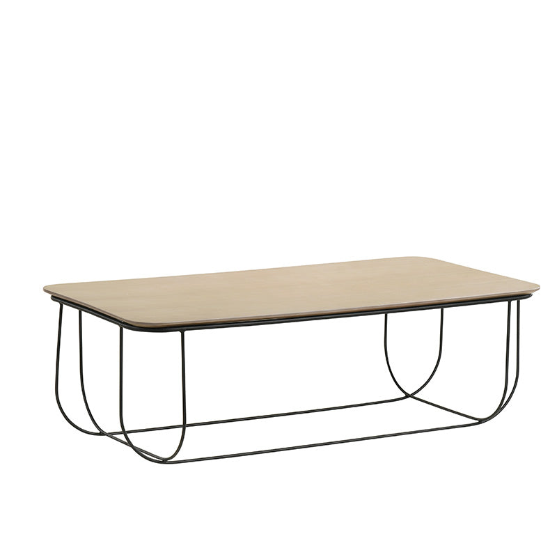 JENSEN Coffee Table 120cm - Natural & Black
