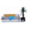 LUSSO Daybed - Yellow & Silver Colour