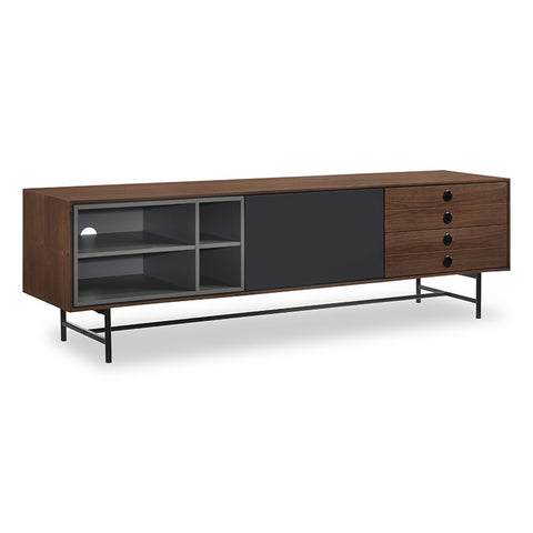 ELSTER TV Entertainment Unit 170cm Walnut/Veneer