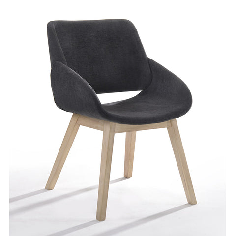 BELA Arm Chair Dining Chair - Natural Black