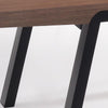 Anker Coffee Table - 120cm - Walnut + Black