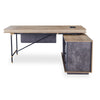 PARKER Executive Desk with Right Return 1.8M - Tobacco