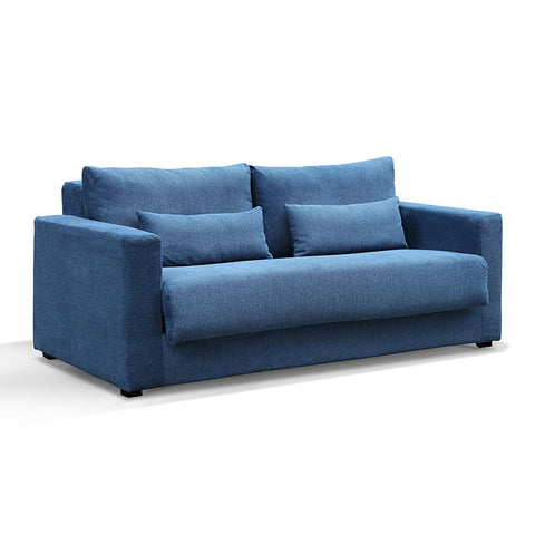 CARMEL 3 Seater Sofa Bed - Blue
