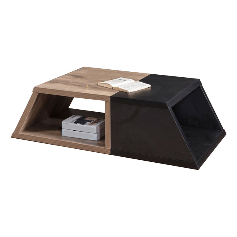 FRANCO Coffee Table 140cm - Mahogany Black