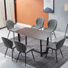 YARELI Stone Dining Table - 180cm - Black