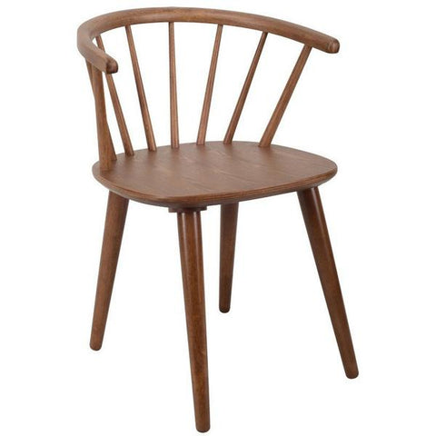 Caley Dining Chair In Lacquered Cocoa