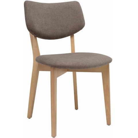 Gabby Dining Chair - Taupe Grey Fabric