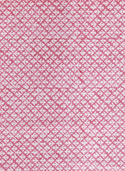 Fabric - Flowers Hot Pink