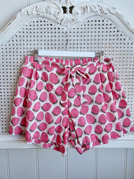 Boxers - Strawberries Pink