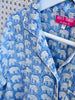 Children's PJs - Elephants Blue