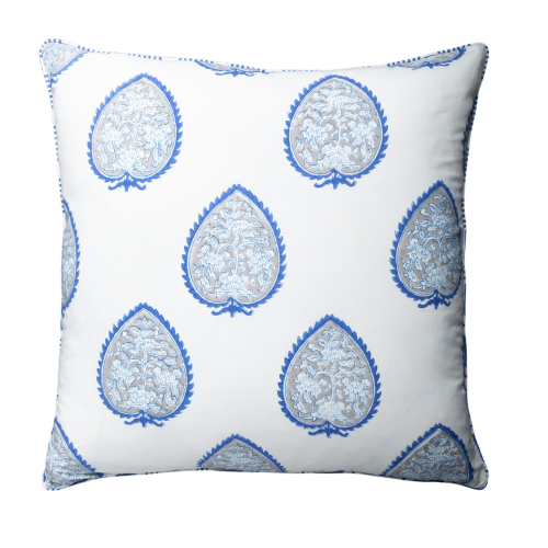 Cushion - Snow Drop Navy