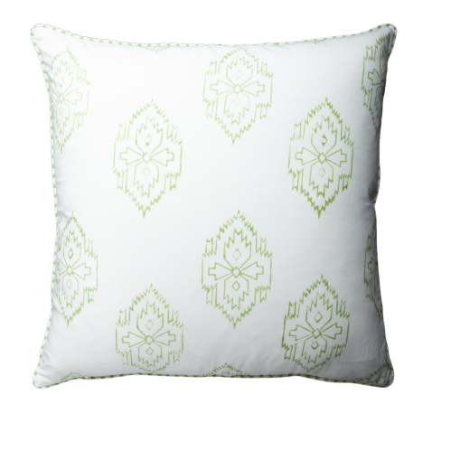 Cushion - Ikat Green