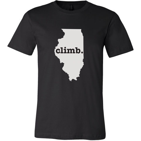 "Men's ""Climb Illinois"" Tee"