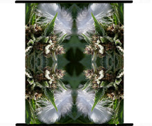 Marijuana Art, Cannabis Wall Art, Exotic Plant Art, Kaleidoscope Art Prints, Tropical Wall Art Fabric, Large Botanical Print, Silk Art Panels, Metal Art, Glass Art