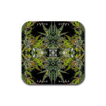 Cannabis Mat in Marijuana Print, Dab Rigs/Glassware Mat, Table Mat, Ganja Mat