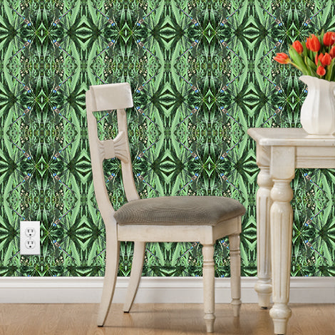 Wall Paper Peel and Stick, Cannabis Wall Art, Wall Paper Removable ...