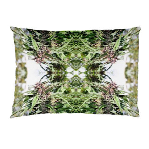 Standard Pillow Case: Ganja Pillow Case in Williams Wonder Marijuana Print, Bed Pillow Case, Cannabis Pillow Case