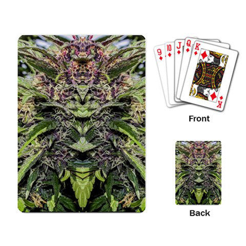 Playing Cards: Marijuana Themed Playing Cards, Cannabis Playing Cards, Marijuana Cards, Poker Cards, Solitaire, Game Cards