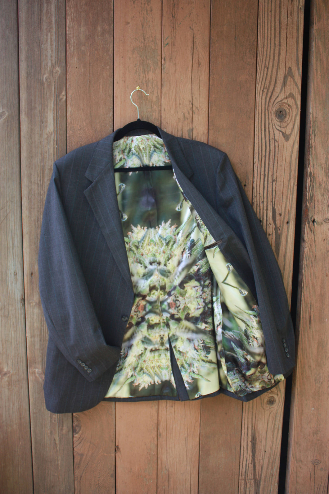 Custom Jacket Men Vintage Mens Suit Jacket for Beach Wedding, Cannabis Wedding, Mens Wedding Jacket,Upcycled Jacket,Mens Blazer